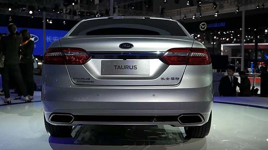 Фото обновленного Форд Таурус 2015-2016