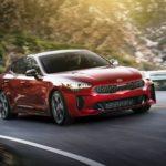 Свежая корейская модель — Kia Stinger 2017-2018 в новом кузове