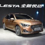 Свежая модель для рынка КНР — Hyundai Celesta 2017-2018 в новом кузове