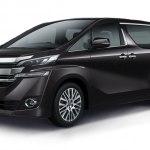Рассекречено характеристики минивена Vellfire бренда Toyota, который будет представлен в 2018 году