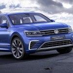 Новый Volkswagen Tiguan 2018 будет гибридом