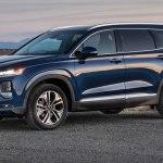 Гуляя по ММАС, стенд Hyundai: трансформация Santa Fe и Tucson