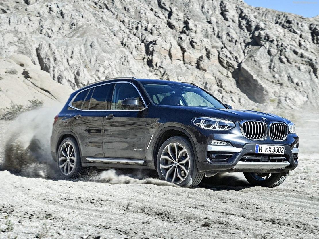 Новый BMW X3 2019 года: улучшенный вариант прошлой модели
