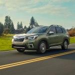 Подтвержденная информация о стоимости обновленного Subaru Forester 2020 года