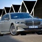 Тестовые испытания седана BMW 7 серии нового поколения